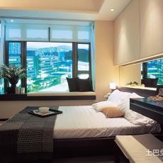 精美面积75平小户型卧室现代欣赏图片