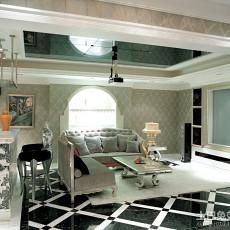 精选81平米欧式小户型客厅设计效果图