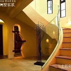 面积128平别墅休闲区美式装修设计效果图