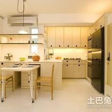 精美美式小户型厨房装修设计效果图片欣赏