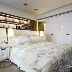 面积71平小户型卧室现代装修图片大全