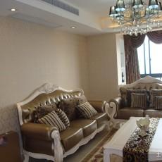精美面积140平复式客厅欧式装修实景图片欣赏