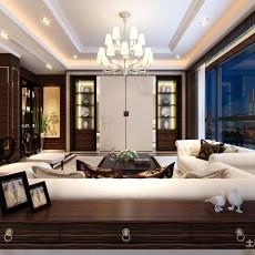 111平米现代别墅客厅装修图片大全
