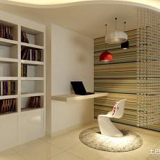 精选面积90平简约二居书房欣赏图片大全