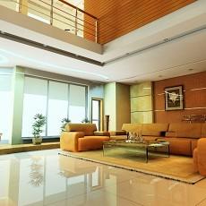 精选142平米现代别墅客厅装修欣赏图片