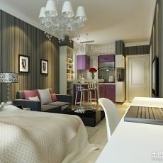 热门86平米现代小户型客厅装修欣赏图片大全