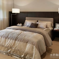 2018精选大小89平现代二居卧室实景图片欣赏