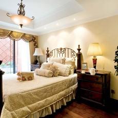 93平方三居卧室欧式装修效果图