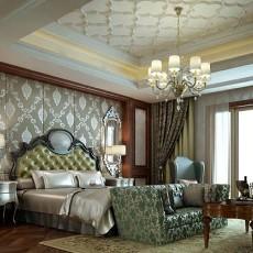 精选135平米欧式别墅卧室装饰图片欣赏