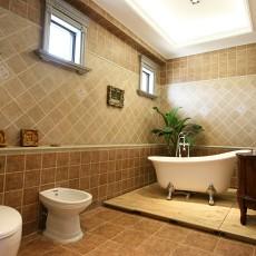 热门小户型卫生间美式装饰图片欣赏