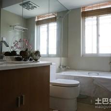 90平米二居卫生间欧式装修效果图片欣赏