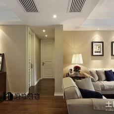 精美面积95平欧式三居玄关装修设计效果图片大全
