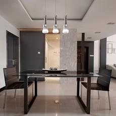 93平米三居餐厅现代设计效果图