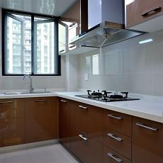 精选开放式厨房装修效果图片