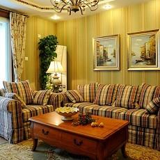 热门面积74平美式二居休闲区装修设计效果图