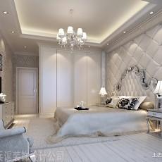 2018面积129平欧式四居卧室装修图片欣赏