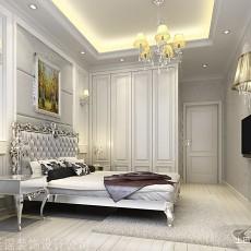 精选120平方四居卧室欧式实景图片大全