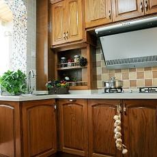 精选美式小户型厨房装修设计效果图片