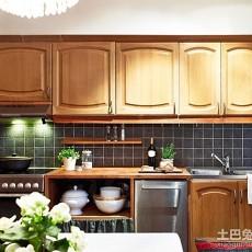 热门面积93平东南亚三居厨房装修实景图片欣赏