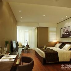精美96平米三居卧室现代装修实景图片欣赏