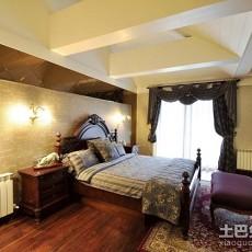 热门美式别墅卧室效果图片
