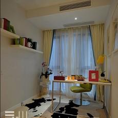 精美72平米现代小户型书房装修实景图片大全