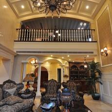 热门面积117平别墅客厅欧式装修图