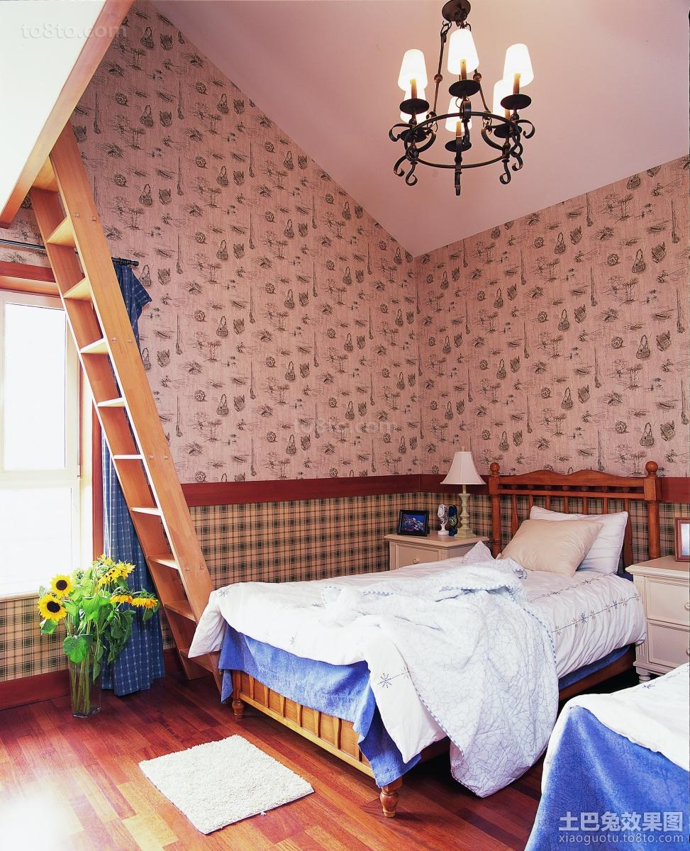 100平米三居卧室简约设计效果图