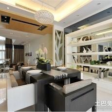 面积102平现代三居餐厅装修设计效果图片欣赏