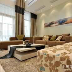 2018面积96平现代三居客厅装修欣赏图片
