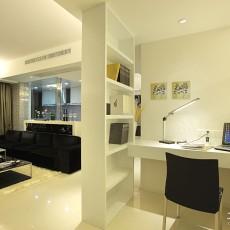 面积92平现代三居书房装修设计效果图片大全