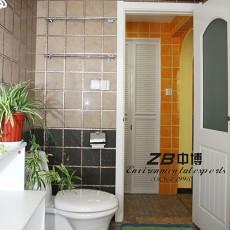 精选103平米三居卫生间现代欣赏图片