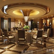精选面积128平别墅餐厅欧式装修效果图片