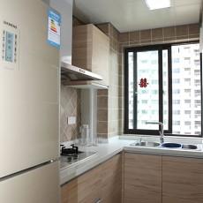 热门面积96平现代三居厨房装饰图片欣赏