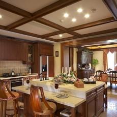 精选三居厨房欧式装修实景图