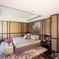 热门面积130平别墅卧室现代装修图片欣赏