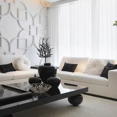 2018精选大小94平现代三居客厅装修效果图片大全