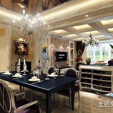 精选面积122平欧式四居餐厅欣赏图片