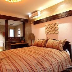 精选99平方三居卧室简约装修欣赏图