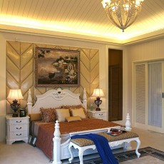 一居卧室欧式装修欣赏图