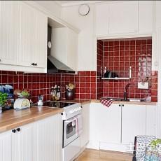 201871平米现代小户型厨房装修设计效果图