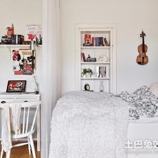 精美73平米现代小户型卧室装饰图片大全