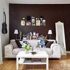 热门面积70平小户型书房现代装饰图