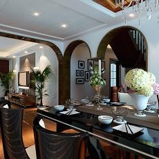 97平米三居餐厅现代装饰图片欣赏