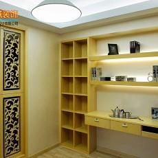 103平米三居书房简约装修图片