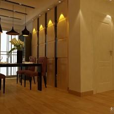 精选100平米三居餐厅现代效果图片欣赏