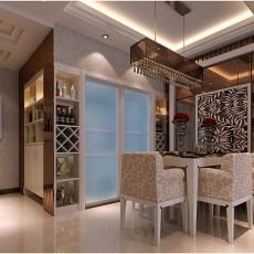 精美现代小户型餐厅装修欣赏图片大全