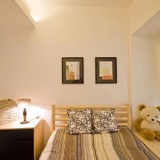 热门97平米三居卧室现代装修效果图片大全