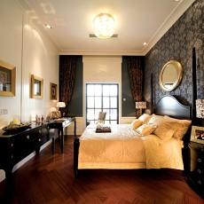 大小109平欧式三居卧室装修实景图片