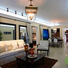 201884平米二居客厅欧式装修设计效果图片欣赏